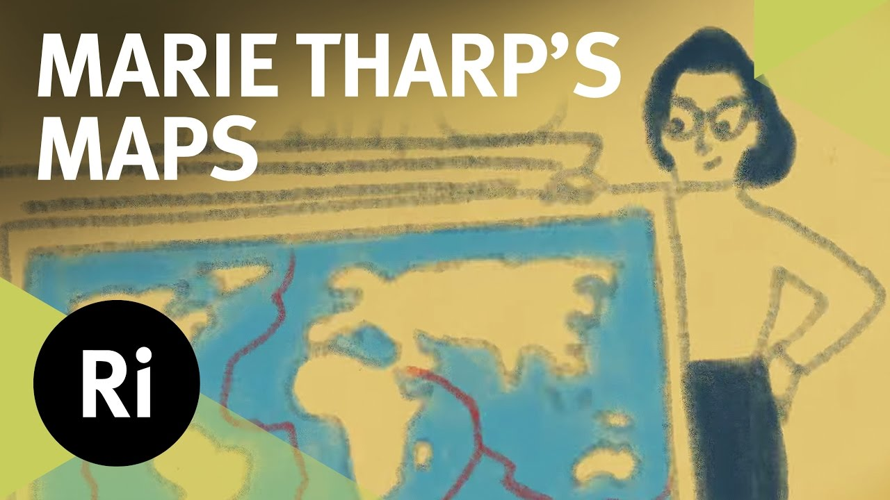 Marie Tharp Uncovering The Secrets Of The Ocean Floor With