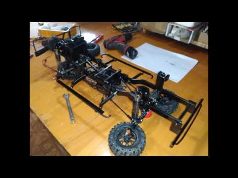 RC Defender d110 build photos & video