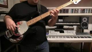 Bass Cover - Naked Eyes - Promises, Promises - with Music Man Stingray bass