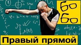 Правый прямой в боксе (straight right). Прямой удар дальней рукой — урок бокса Николая Талалакина