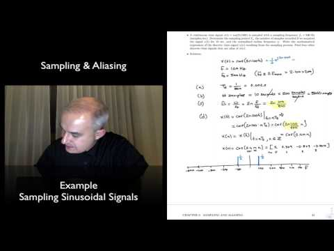DSP Topic 3: Example-Sampling Sinusoidal Signals