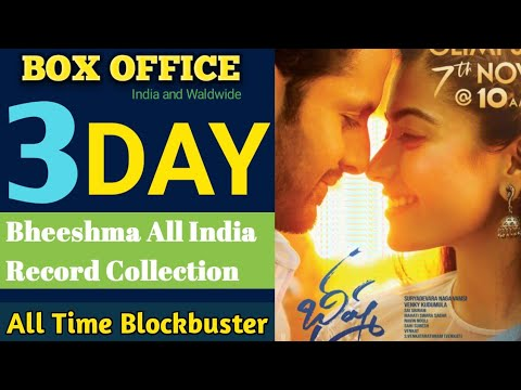 Bheeshma Box Office Collection Bheeshma Movie 4th Day Box Office Collection Nithiin Bheeshma Youtube