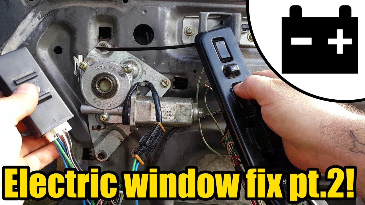 Electric Window Fix Pt2 1424 Youtube Power Wiring Diagram 1
