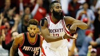 James Harden Scores 45 in Houston