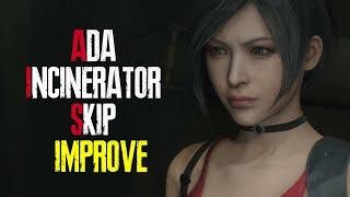 Resident Evil 2 Remake - Ada Incinerator Skip Improve (Leon A Speedrun Skip)