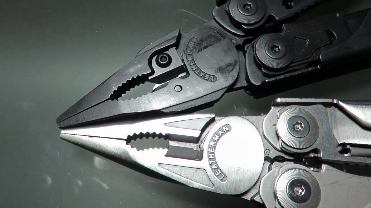 Leatherman Surge (old and new models) - YouTube