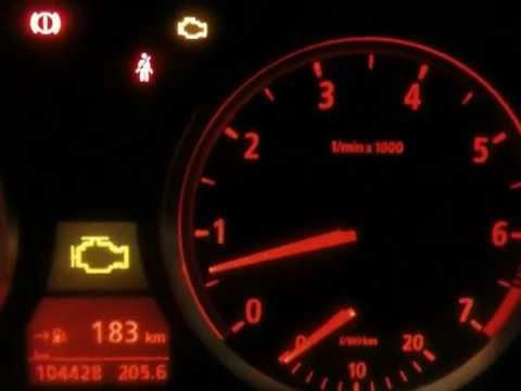 BMW 520i e60 rough idling & check engine - YouTube