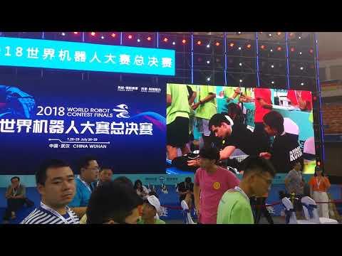Robobcom2018, Wuhan, China, Russian Team, Novosibirsk, Technoprom2018