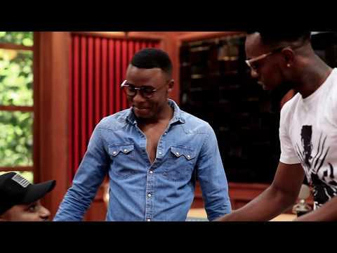 Alikiba na Patoranking wanakutana producer Masterkraft kutengeneza hit la Coke Studio Africa.