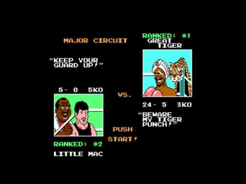 How To Beat Great Tiger In Mike Tyson's Punch Out