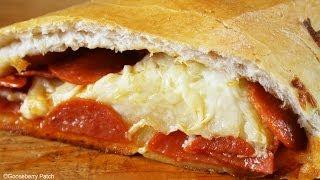 3-ingredient Pepperoni Bread Recipe