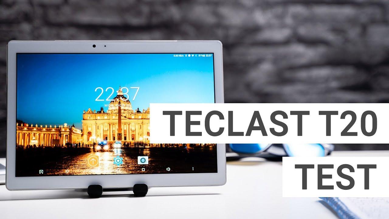 Teclast T20 Test So Gut Ist Das China Tablet Deutsch Youtube