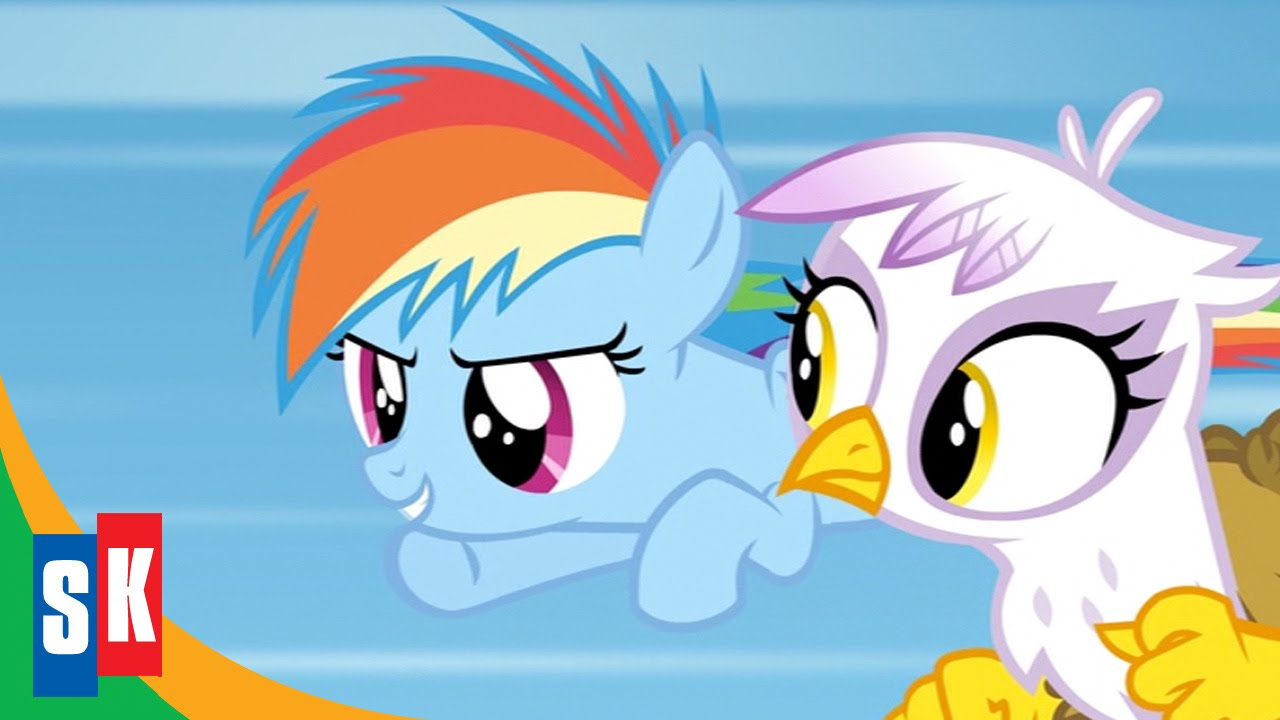 My Little Pony Friendship Is Magic Games Ponies Play 5 5 Gilda And Rainbow Dash Were Friends Youtube