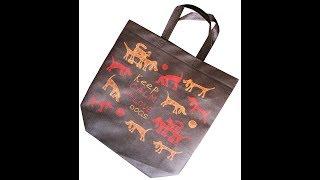 Эко сумка для покупок: видео обзор