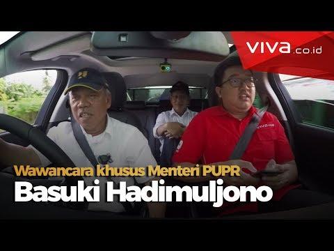 Cek Jalur Mudik Naik Jaguar Disopiri Menteri PUPR