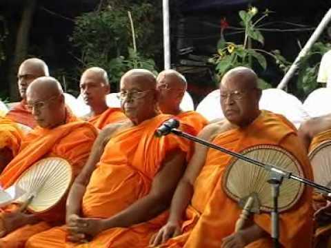 Bodhi   Tree  to France  mark the 2600 Sambuddha Jayanthi 02