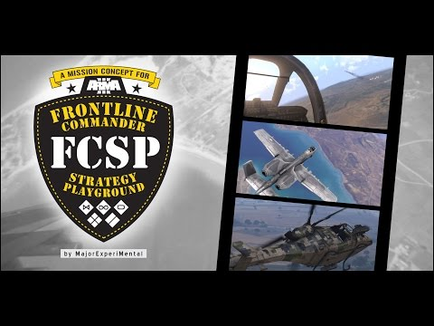 REALTIME GAMEPLAY Arma3-mission FCSP AERIAL RECON (INVASION