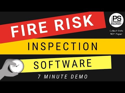 Fire Risk Inspection Reports in Seconds - Mobile Fire Risk Inspection Surveying App