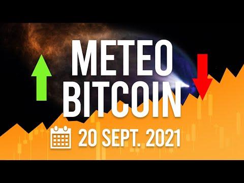 La Météo Bitcoin FR - Lundi 20 septembre 2021 - Analyse Crypto Fanta