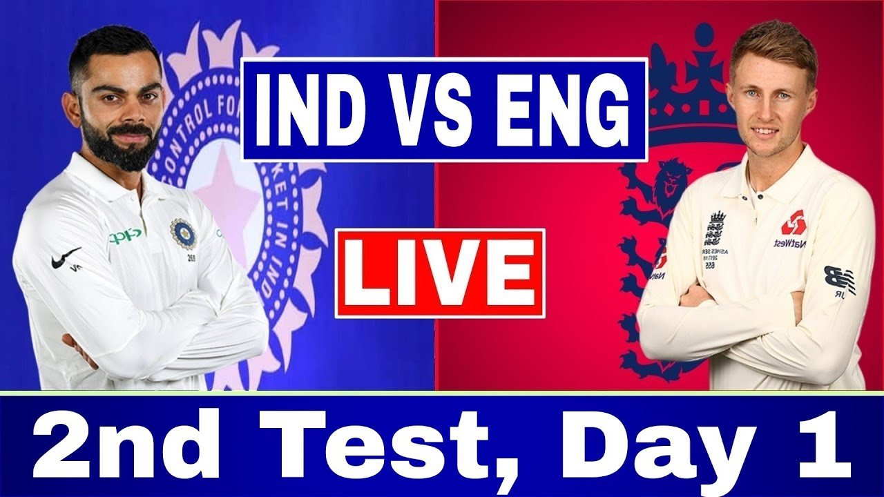 Live Report - India vs England, 2nd Test, Chennai, 1st day
