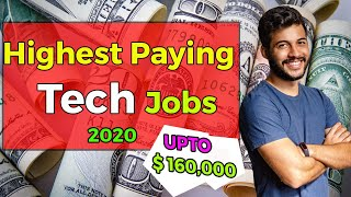 10 Highest Paying Tech Jobs in 2020 for Indian/भारतीय  Highest Paying IT Jobs 2020 