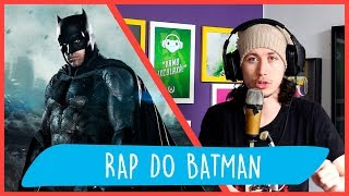 REACT Rap do Batman - CAVALEIRO DE GOTHAM | NERD HITS (7 Minutoz)