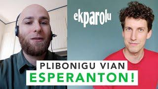 Plibonigu vian Esperanton kun Ekparolu!