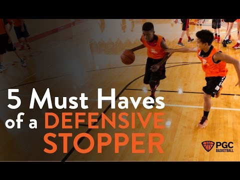 5 Must Have Habits of a Defensive Stopper | PGC Basketball