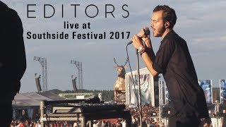 Editors Southside Festival 2017 HD *New Songs*