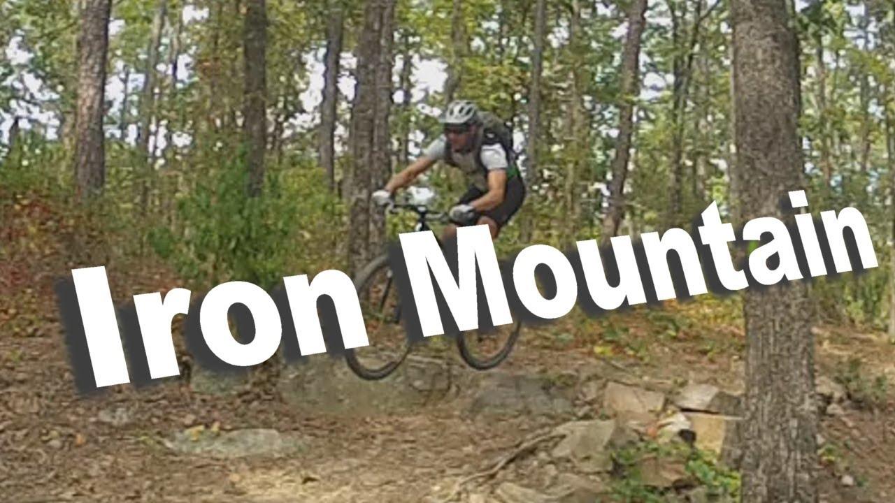 Mountain Biking Iron Mountain Trails Arkansas Youtube