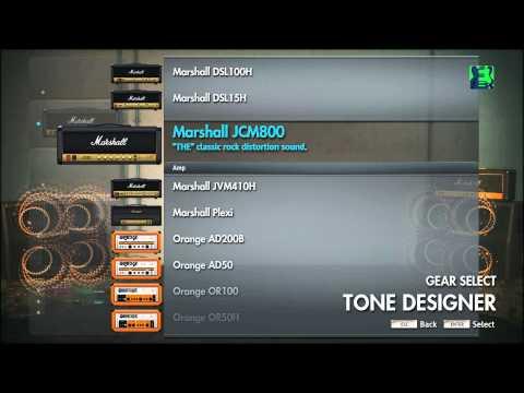 Let's Play Rocksmith 2014 - #6 Tone Designer