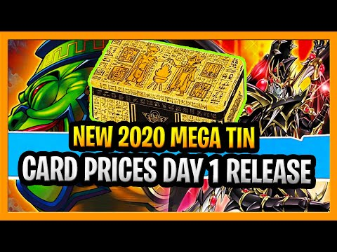 Yugioh 2020 Mega Tin Values Prices Dropping FAST, Worth Buying into? Yugioh Tin of Lost Memories