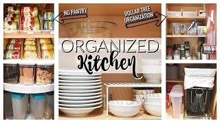 ORGANIZED (& REALISTIC) KITCHEN TOUR! | KITCHEN ORGANIZATION & IDEAS | HOW TO ORGANIZE YOUR KITCHEN
