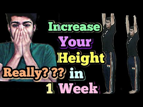Let\'s increase height in 1 week | secret  formula revealed | Yoga Asana for Height Increase