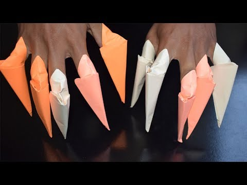 Paper Claws - How to make Sharp Paper Claws Origami - WeBrothers