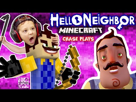 Thumbnail: HELLO NEIGHBOR MINECRAFT IMPOSTER! FGTEEV Chase Plays! (Mod Map of Horror Adventure w/ ZOMBIE)
