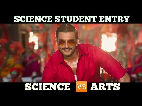 Science student 🆚 arts student in Bollywood style!!  By take Prince!!