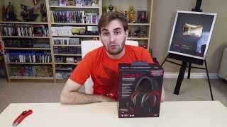 UNBOXING HEADSET HYPERX CLOUD II - Headphone para Games!