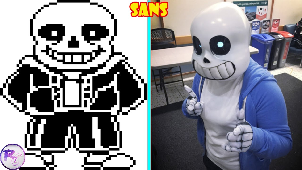 Undertale Characters In Real Life Cosplay Youtube