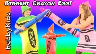 Giant CRAYOLA Crayon Arts and Crafts