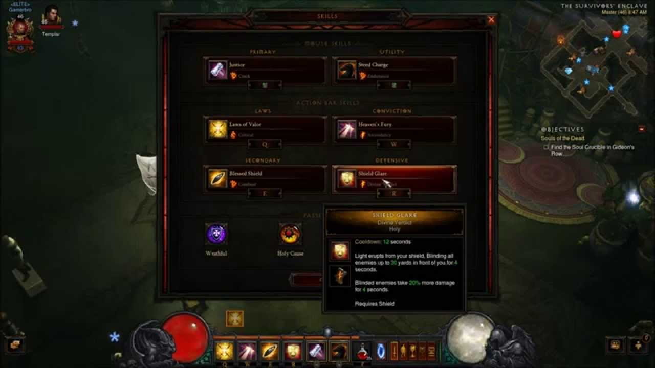 Diablo Crusader Build Leveling