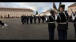 La 497ème promotion de l'école de gendarmerie de Chaumont honore le gendarme René Morelle