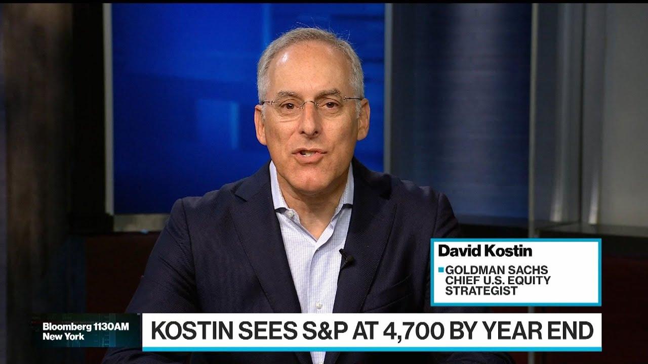 Download Goldman's Kostin Sees S&P 500 at 4,900 Next Year
