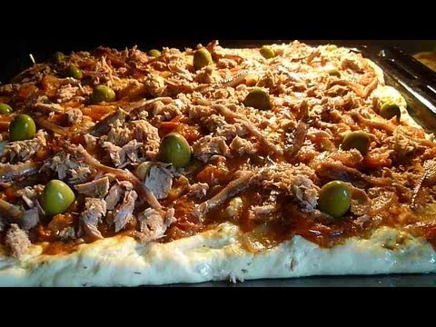 Pizza tunisienne recette tunisienne youtube for Cuisine tunisienne