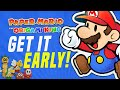 HOW To Get PAPER MARIO The Origami King EARLY as well as LEGALLY Right NOW!