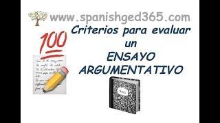 Criterios para evaluar un ensayo - GED en español, HiSET y TASC