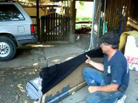 Half Ton Truck >> 3/3 Redneck Upholstery Repair 1985 Chevy Silverado Half ...