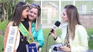 Miss Mirim Model Brasil 2014 - Hamanda