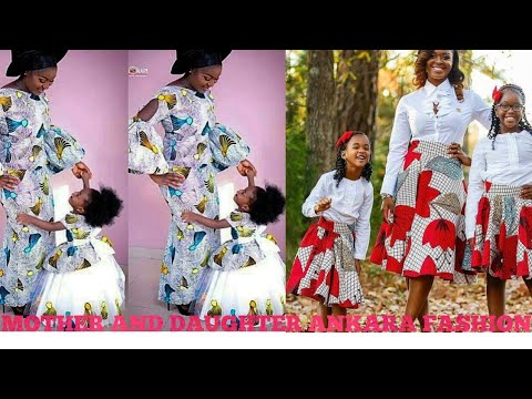 d3d13d91c3 Mother and daughter matching african wear/ how to style african wear/mini  me african wear
