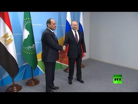 بوتين يستقبل السيسي في سوتشي  - نشر قبل 3 ساعة